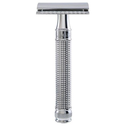 Edwin Jagger 3D Diamond Double Edge Safety Razor
