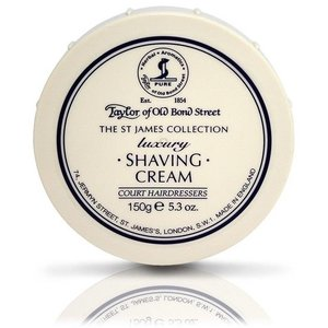 Taylor of Old Bond Street Scheercrème St James Collection 150g