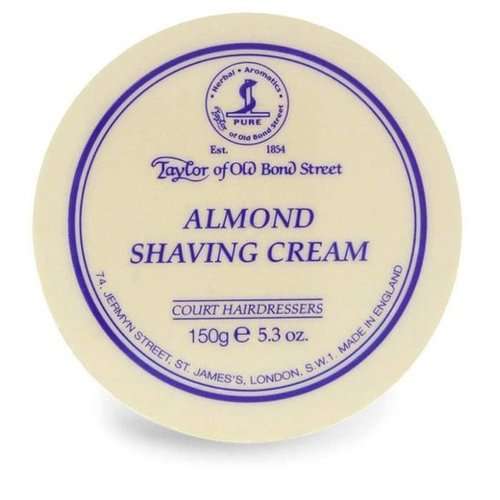 Taylor of Old Bond Street Scheercrème Almond 150g
