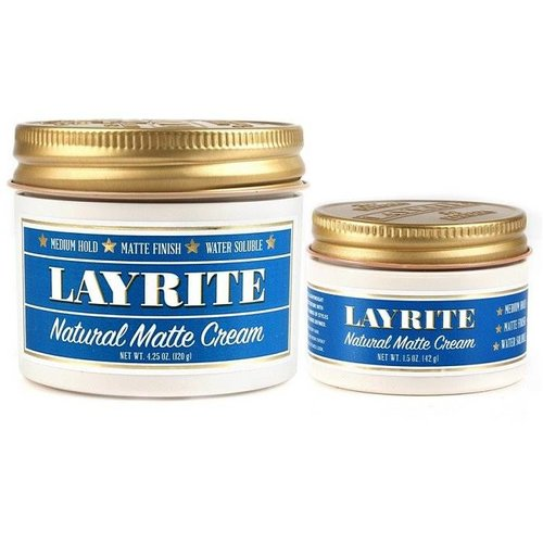 Layrite Natural Matte Cream Travelsize 42g