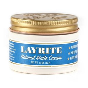 Layrite Natural Matte Cream Travelsize 42g