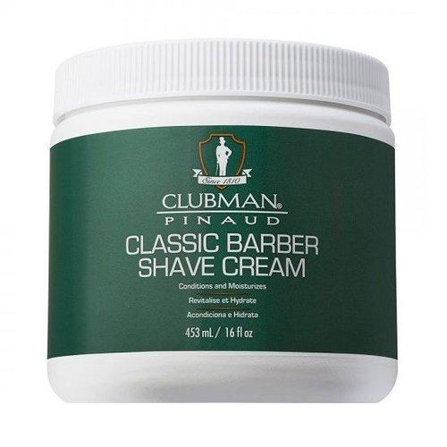 Clubman Pinaud Classic Barber Scheercrème 453 ml