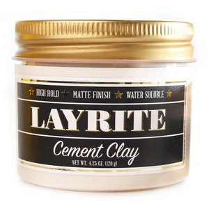 Layrite Cement Hair Clay 120g