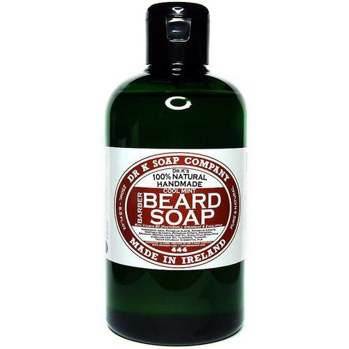 Dr K Soap Company Baardzeep Cool Mint XL 250 ml