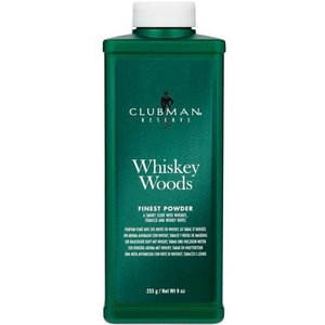 Clubman Pinaud Whiskey Woods Talkpoeder 255g