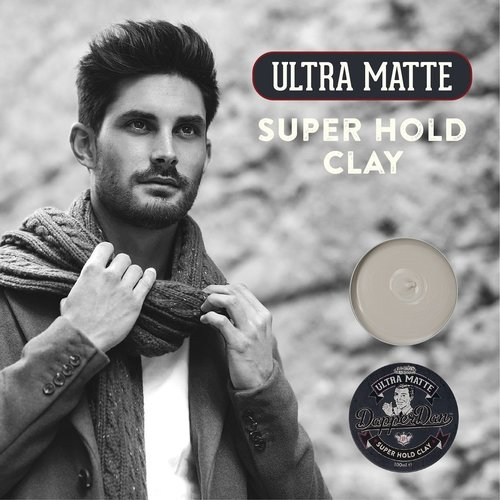 Dapper Dan Ultra Matte Clay 100 ml