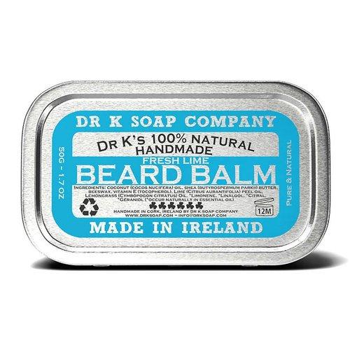 Dr K Soap Company Baardbalsem  Fresh Lime 50g