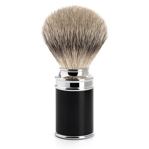 Muhle Scheerkwast Silvertip Zwart