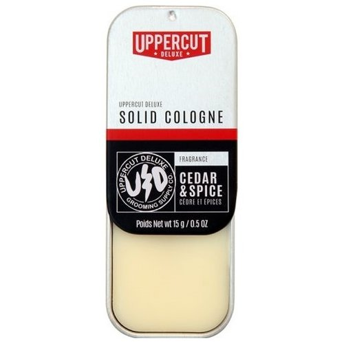 Uppercut Deluxe Solid Cologne Cedar & Spice 15g