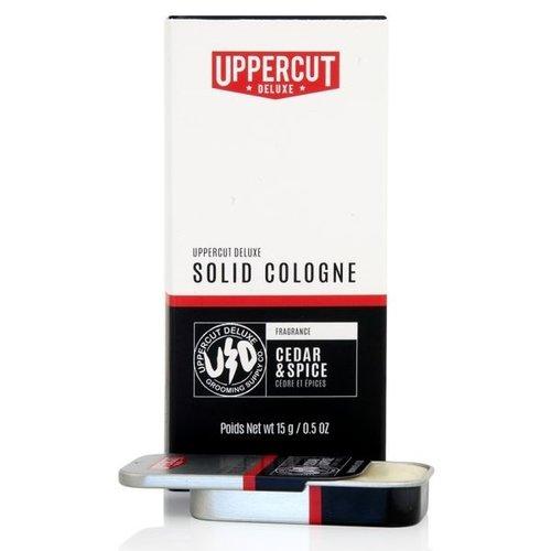 Uppercut Deluxe Solid Cologne Cedar & Spice 15g