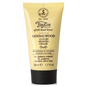 Taylor of Old Bond Street Scheercrème Sandalwood 50 ml