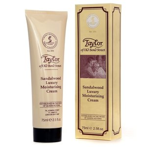 Taylor of Old Bond Street Moisturising Cream Sandalwood 75 ml