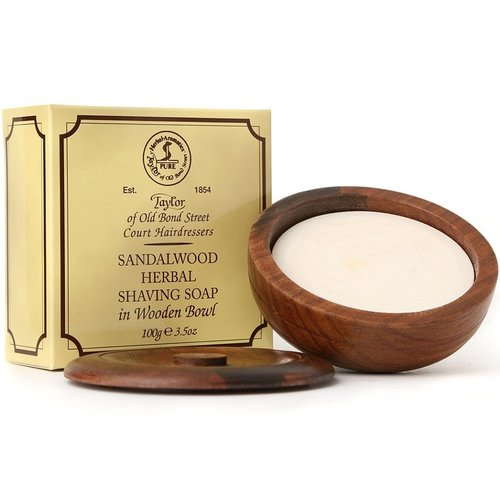 Taylor of Old Bond Street Scheerzeep Sandalwood 100g