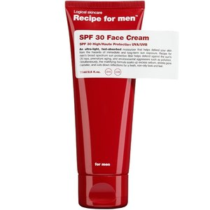 Recipe for men SPF 15 Facial Moisturizer 75 ml
