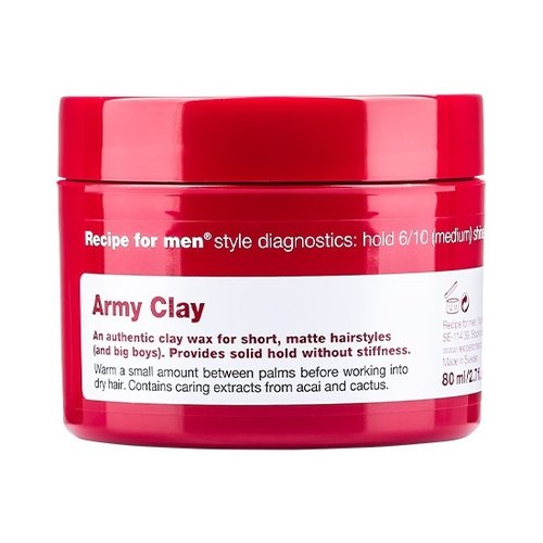 Recipe for men Army Clay 80 ml
