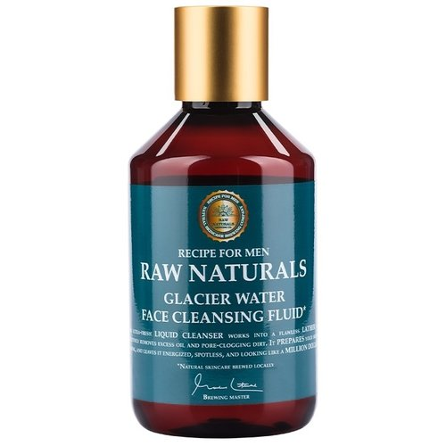 RAW Naturals Glacier Water Face Cleansing Fluid 250 ml