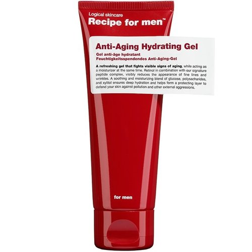 Recipe for men Anti-Aging Hydrating Gel 75 ml