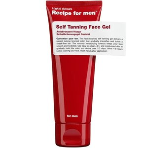 Recipe for men Self Tanning Face Gel 75 ml