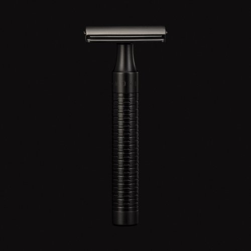 Muhle Double Edge Safety Razor Rocca Jet Zwart