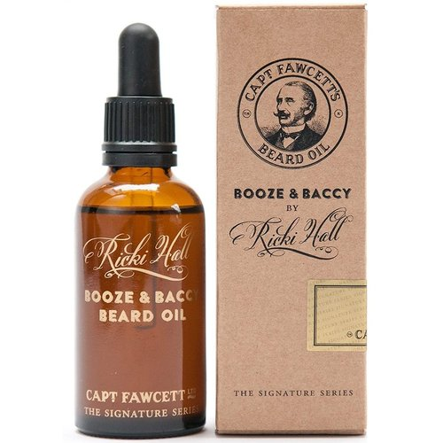 Captain Fawcett Ricki Hall Booze & Baccy Baardolie 50 ml