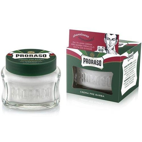 Proraso Green Refreshing Pre-Shave Cream 100 ml