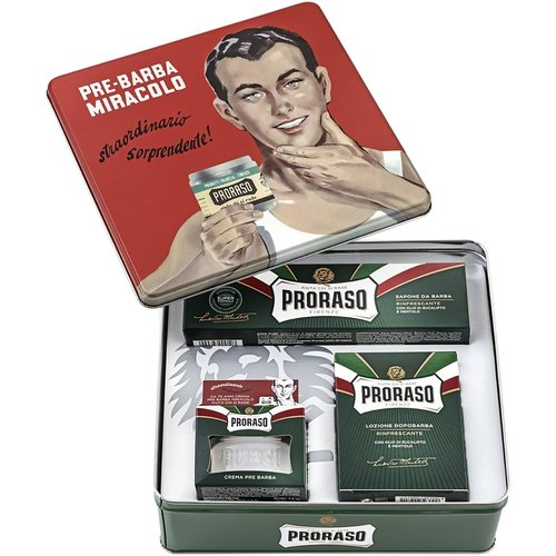 Proraso Vintage Tin Green Refreshing