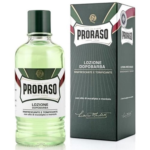 Proraso Green Refreshing Aftershave Lotion 400 ml
