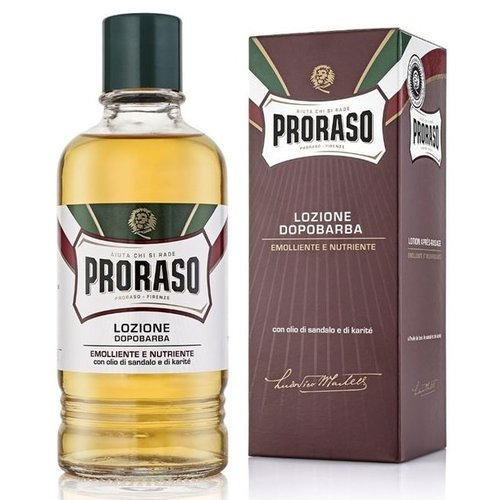 Proraso Red Sandalwood Aftershave Lotion 400 ml