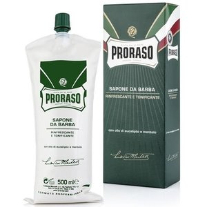 Proraso Green Refreshing Scheercrème 500 ml
