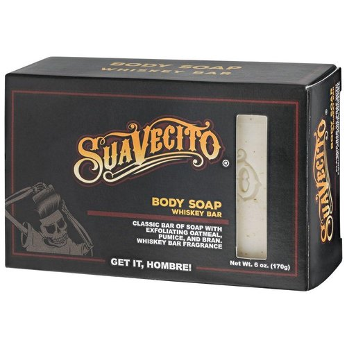 Suavecito Body Soap Whiskey Bar 170g