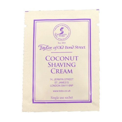 Taylor of Old Bond Street Scheercrème Coconut Sample 5 ml