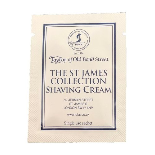 Taylor of Old Bond Street Scheercrème St James Collection Sample 5 ml