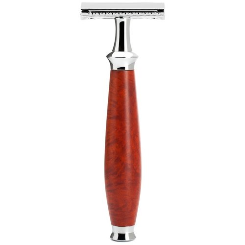 Muhle Double Edge Safety Razor Purist Briar Hout