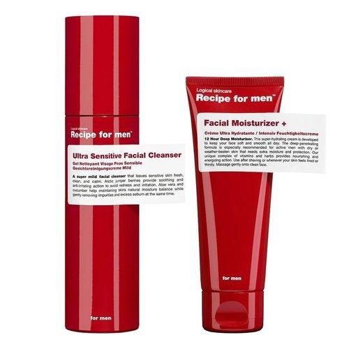 Recipe for men Skincare Essentials Kit