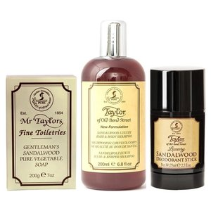 Taylor of Old Bond Street Body Care Kit Sandalwood
