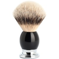 Scheerkwast Silvertip Sophist Zwart (L)