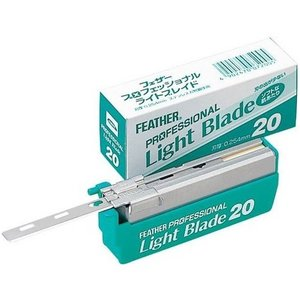 Feather Professional Blades Light 20 stuks