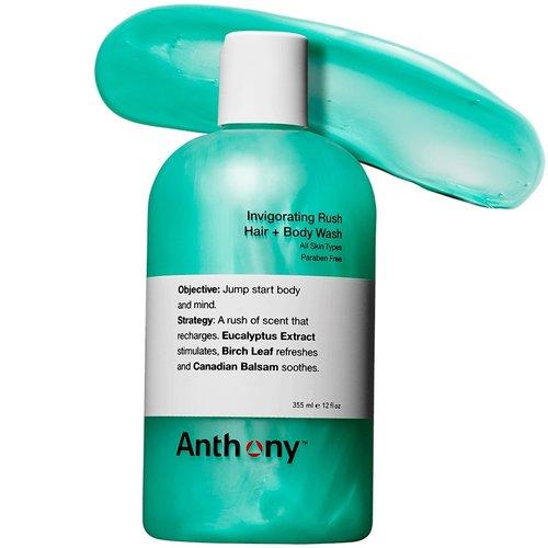Anthony Invigorating Rush Hair + Body Wash 355 ml