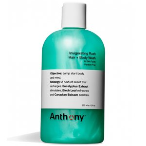 Anthony Invigorating Rush Hair + Body Wash 355 ml