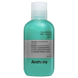 Anthony Invigorating Rush Hair + Body Wash Travel 100 ml