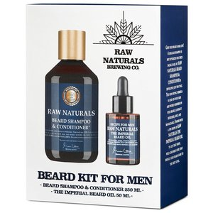 RAW Naturals Beard Kit