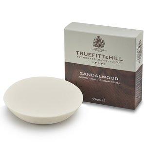 Truefitt & Hill Sandalwood Scheerzeep - Navulverpakking 99g