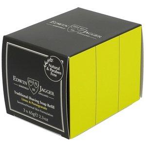 Edwin Jagger Scheerzeep Limes & Pomegranate Trio - Navulverpakking