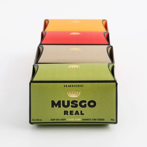 Musgo Real Soap on a Rope Spiced Citrus 190g