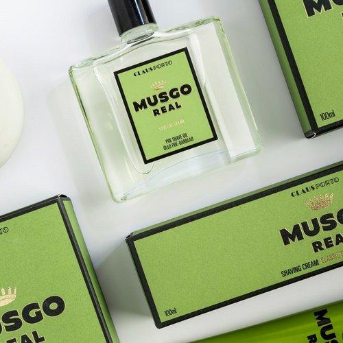 Musgo Real Scheerzeep Classic Scent - Navulverpakking 125g