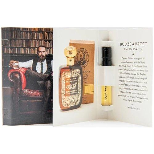 Captain Fawcett Eau de Parfum Booze and Baccy Sample 2 ml