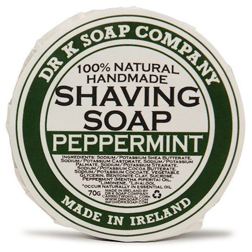 Dr K Soap Company Scheerzeep Peppermint 70 gr.