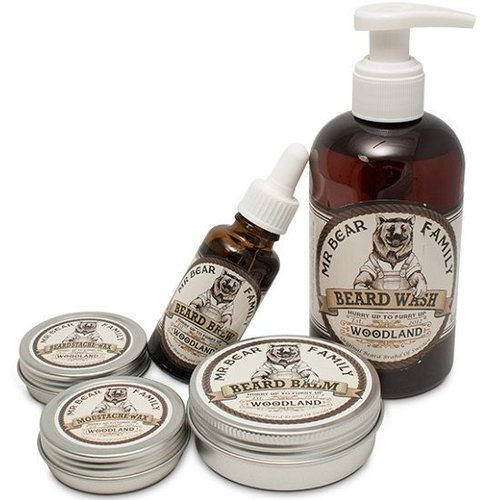 Mr Bear Family Baardzeep Woodland 250 ml