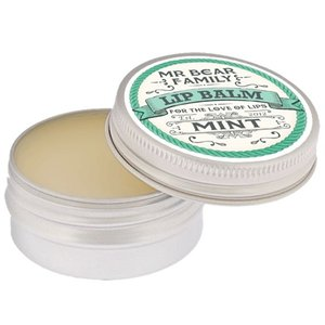 Mr Bear Family Lippenbalsem Mint 15 ml