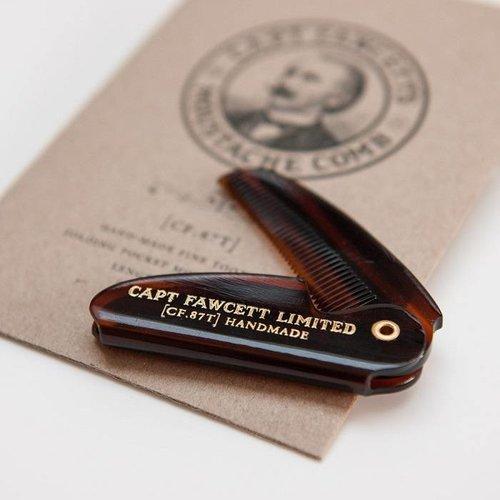 Captain Fawcett Moustache Comb